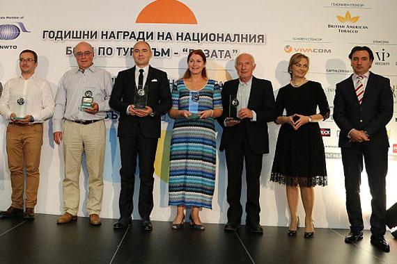 """The Rose"" 2018 award for Zornitza Family Estate Relais & Châteaux"