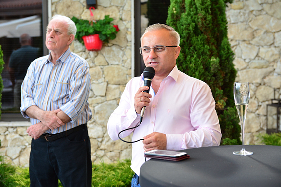 Pavel Koytchev opened an exhibition at Zornitsa Family Estate Relais & Châteaux