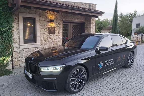 BMW 7 Series is at your disposal