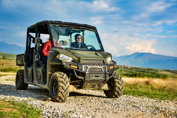 Discover the Melnik region with scooters and UTV