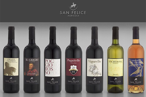 Fascinating evening with San Felice wines of happiness