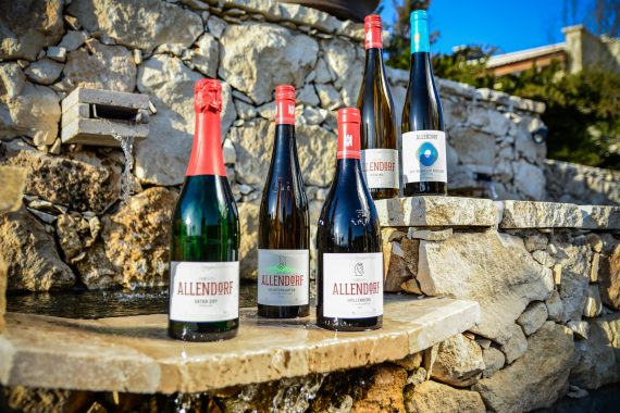 A five-course dinner with Allendorf wines